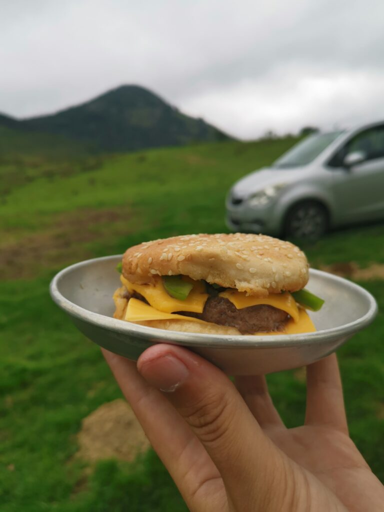 hamburger maison camping