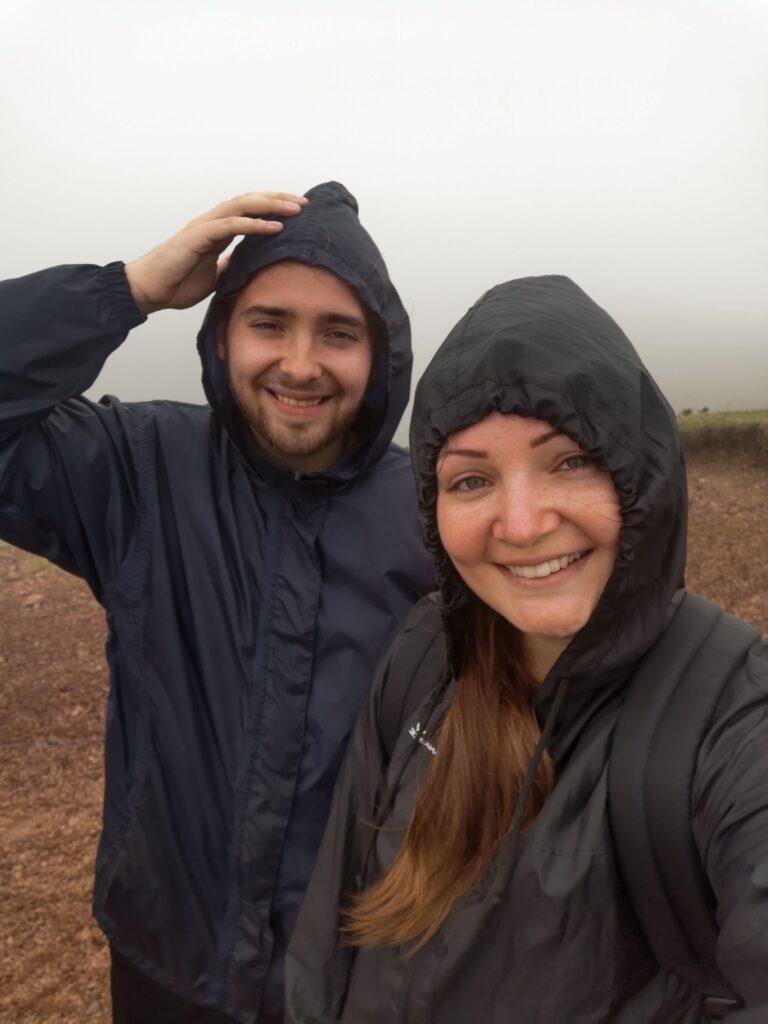 gabriel et johanna au sommet du puy pariou